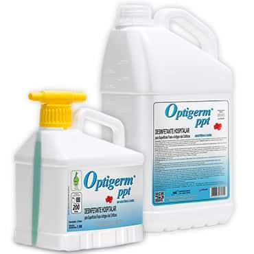 Desinfetante hospitalar - Optigerm ® Ppt