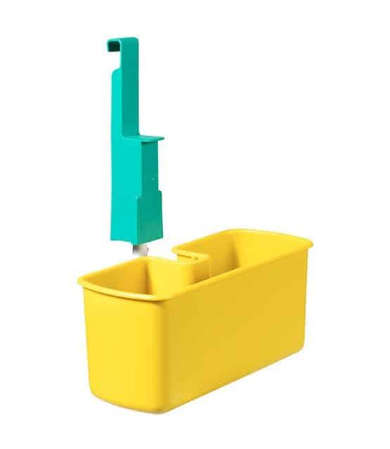 Cesto para produtos de limpeza