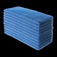 Fibra de limpeza leve azul