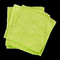 Pano microfibra verde