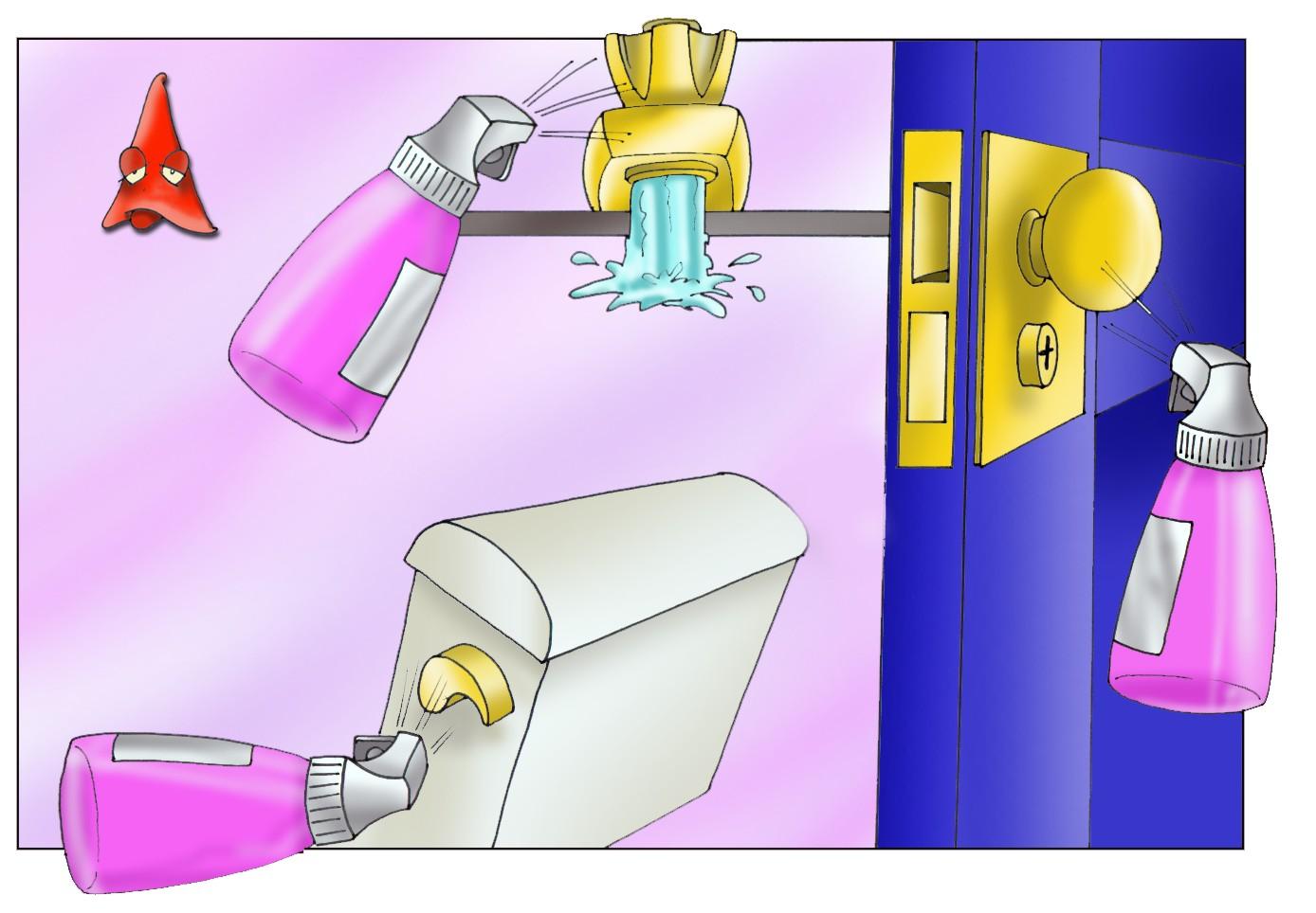A eficácia e o tempo dos produtos de limpeza profissional