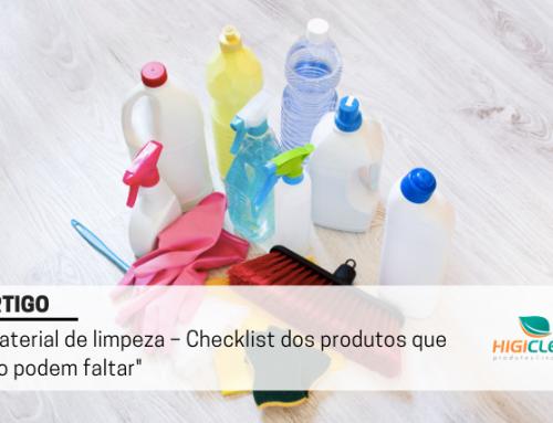 Material de limpeza – Checklist para empresas