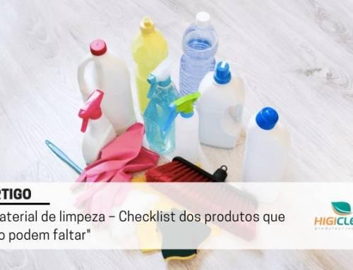 Lista de Material de Limpeza – Compre, Pegue a Lista, Conheça