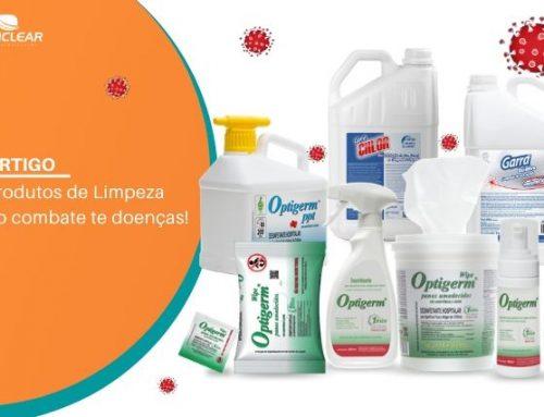 Produtos de Limpeza no combate de doenças
