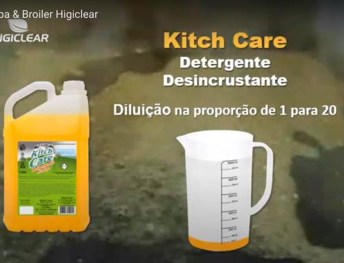 Limpeza de Chapa & Cha Broiler com Desincrustante Kitch Care