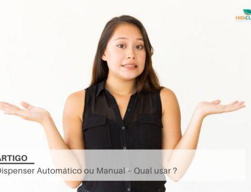 Dispenser Automático ou Manual – Qual usar ?
