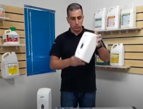 Dosador Automático Álcool Gel