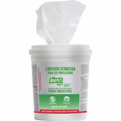 lenço desinfetante blanco wipe