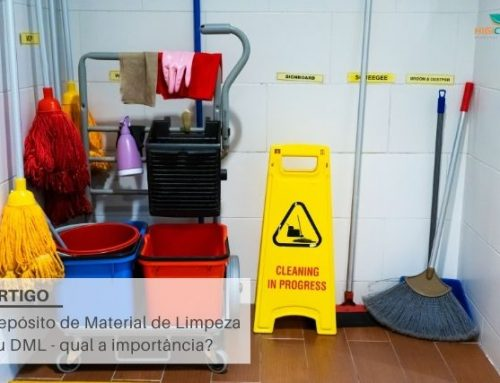 Depósito de Material de Limpeza ou DML – qual a importância?