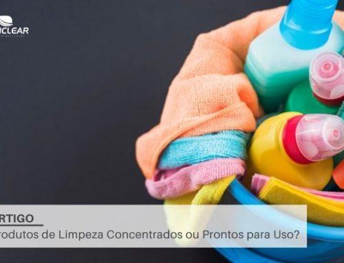 Produtos de Limpeza Concentrados ou Prontos para Uso?