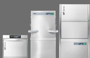 máquina de lavar louças industrial