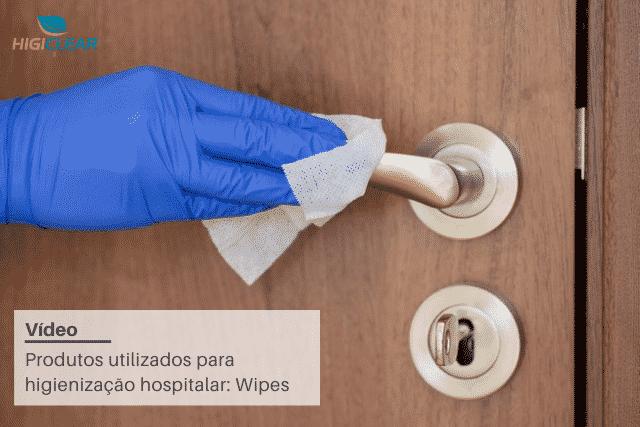produtos utilizados para higienização hospitalar