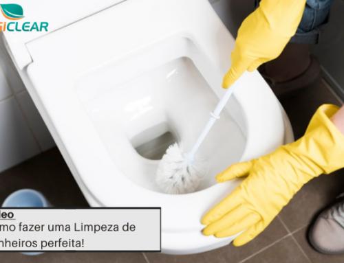 Como fazer uma Limpeza de Banheiros perfeita!