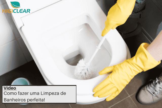 limpeza de banheiros