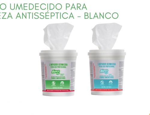 Lenço Umedecido para Limpeza Antisséptica – Blanco Wipe