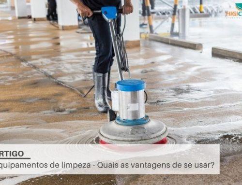 Equipamentos de limpeza – Quais as vantagens de se usar?